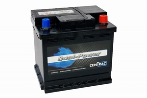 Centrac Dual Power Semi-Tractie Accu DP45 12 Volt 45 Ah