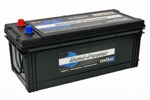 Centrac Dual Power Semi-Tractie Accu DP120CMF 12 Volt 120 Ah