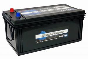 Centrac Dual Power Accu DP225CMF 12 Volt 225 Ah CMF