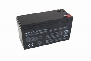 Centrac Dual Power AGM Accu 12V 9Ah (C20) MB12-9