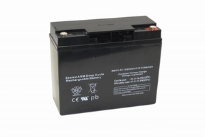 Centrac Deep Cycle AGM Accu MB12-22 12V 22Ah (C20)