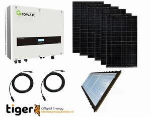 6300 Watt 230V Zonne Panelen Set voor Woning