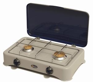 Parker 2 Pits Camping Kooktoestel met Deksel