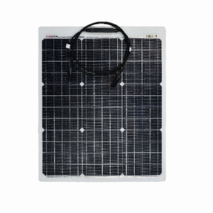 EnjoySolar® 50W Marine PERC Flexibel Zonnepaneel 610x505 mm