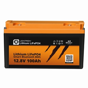 LionTron LiFePO4 12,8V 100Ah 1280Wh LX Smart BMS Bluetooth