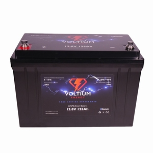 NRG Europe LiFePO4 Lithium Batterij 12,8 Volt 125Ah 1600Wh