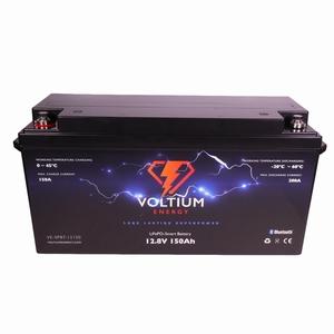 NRG LiFePO4 Lithium Batterij 12,8 Volt 150Ah 1920Wh