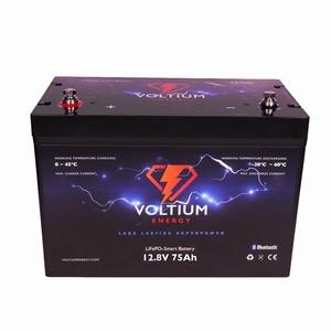 Voltium LiFePO4 Batterij 12,8 Volt 75Ah 960Wh BMS en App