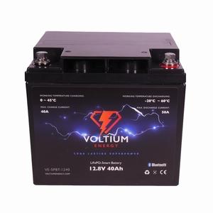 NRG Europe LiFePO4 Lithium Batterij 12,8 Volt 40Ah 512Wh