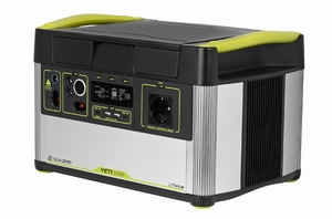 GOAL ZERO YETI 1000X Lithium Portable Power Station 1045Wh