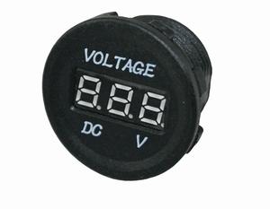 TIGER® Inbouw Voltmeter 10 Volt - 30 Volt