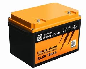 LionTron LiFePO4 25,6V 100Ah 2560Wh LX Smart BMS Bluetooth