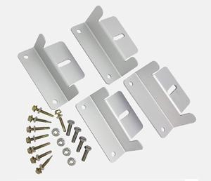 Aluminium Montage Set Zonnepanelen Z-vleugels b.100mm h.30mm