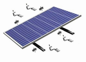 Sunstruction Aluminium Dakmontageset Schuin Dak Zwart