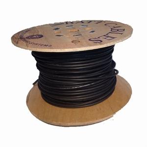 HIKRA® Solarkabel 1x 4,0 mm2. Zwart (100 meter)