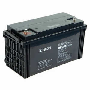 VISION Dual purpose VRLA AGM accu 12V 120Ah (20hrs)