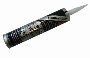 Sikaflex 252 Lijm 300 ml. Zwart