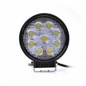 Westech LED Richtlamp 27W 12V / 24V DC Rond