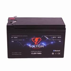 Voltium LiFePO4 Batterij 12,8 Volt 9Ah 116Wh BMS en App