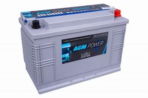 Intact AGM Power Accu 12 Volt 100 Ah