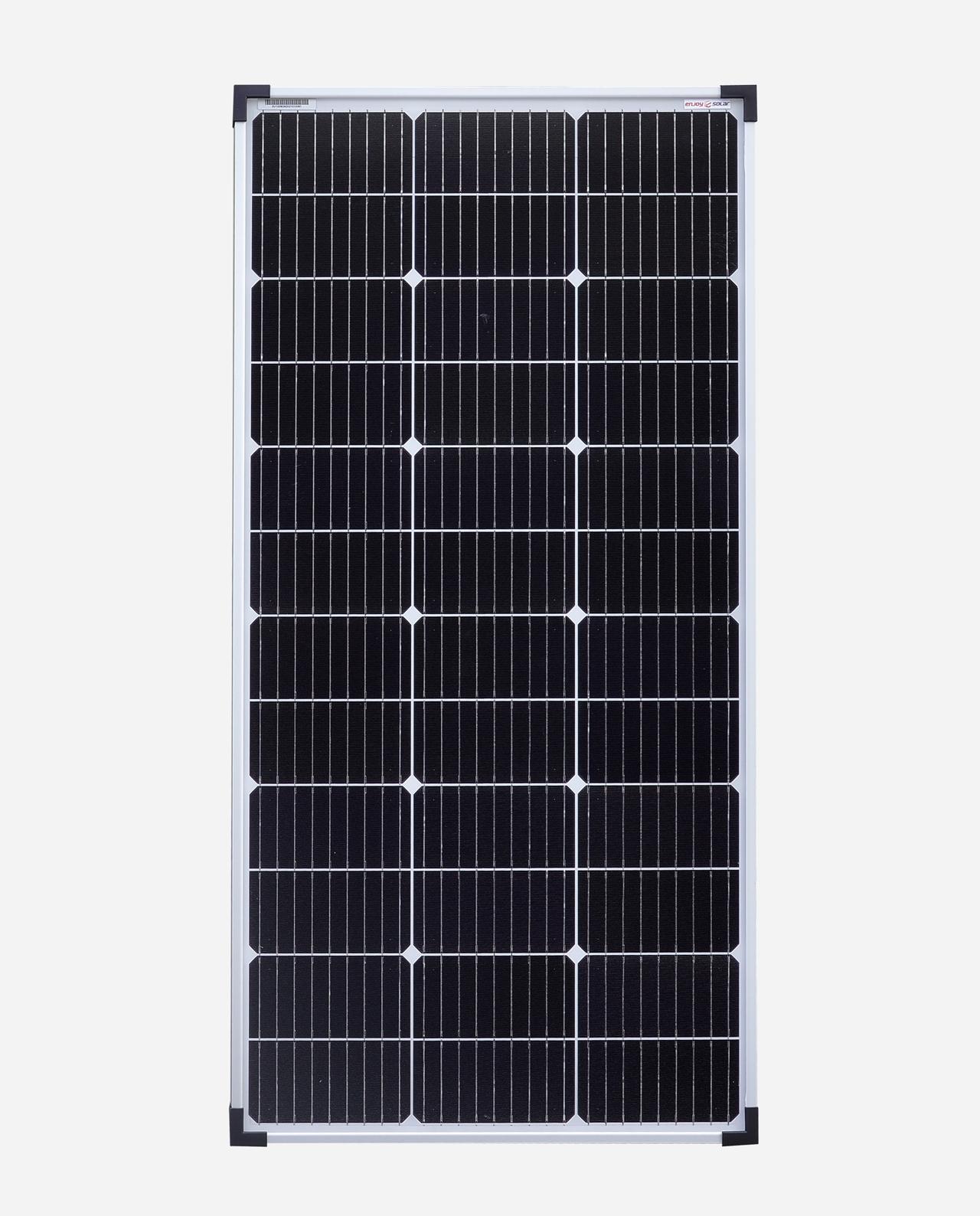 100 Watt Zonnepaneel 9BB PERC Monokristal afm: 1065x540 mm.