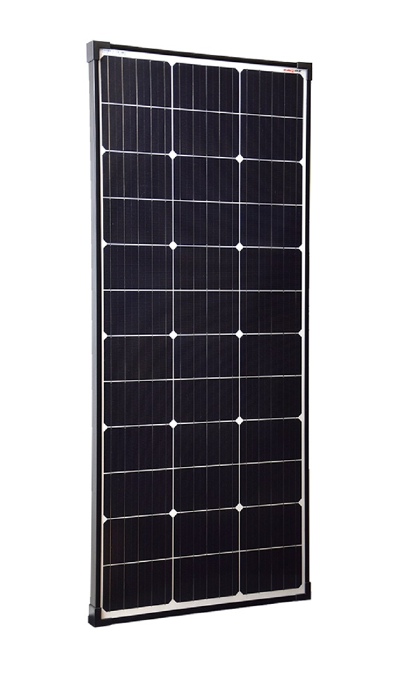 110 Watt Zonnepaneel Monokristal afm: 1190x510 mm.