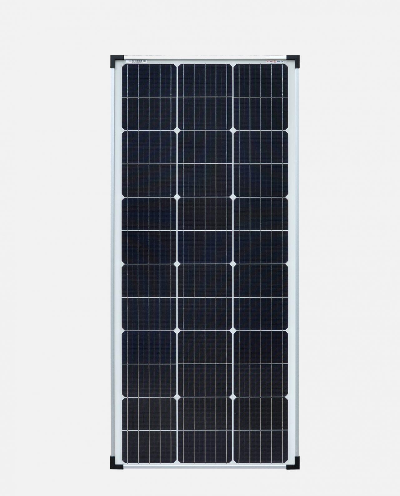 100 Watt Zonnepaneel Monokristal afm: 1190x540 mm.