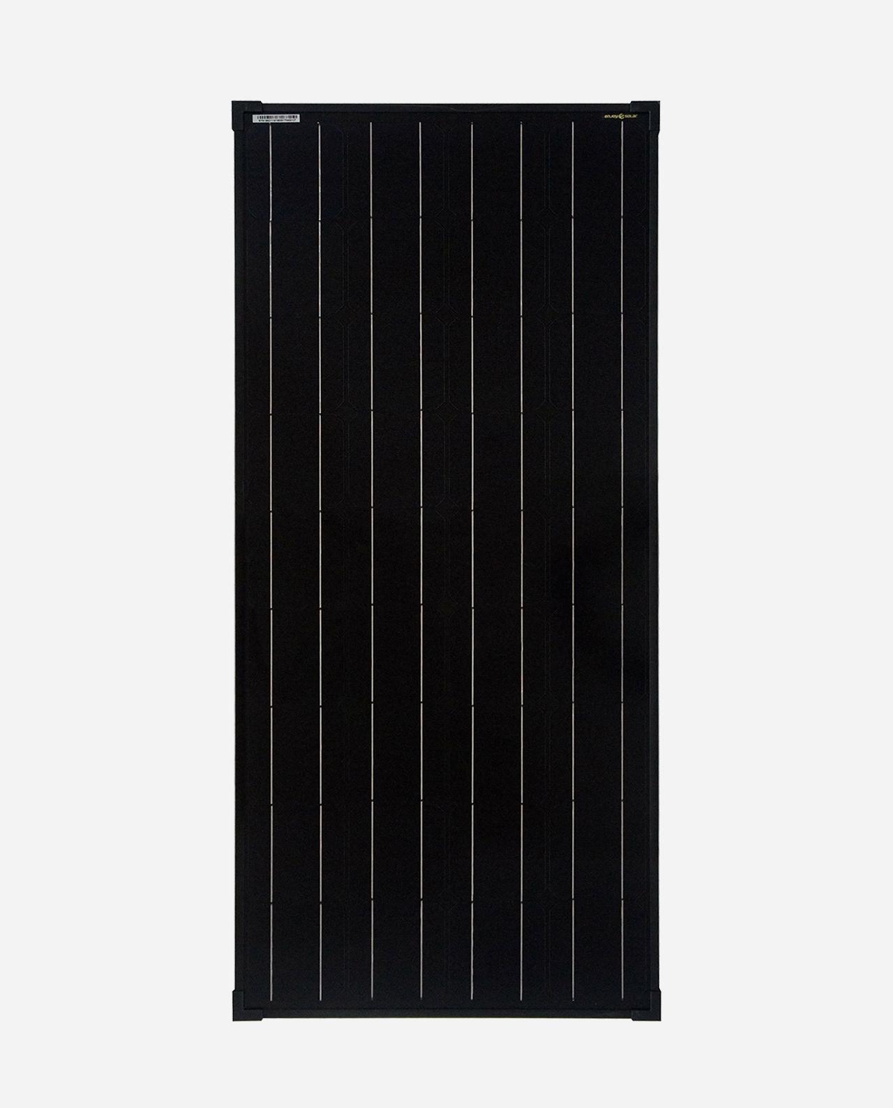 100 Watt Zonnepaneel Monokristal Full Black afm: 1190x540 mm