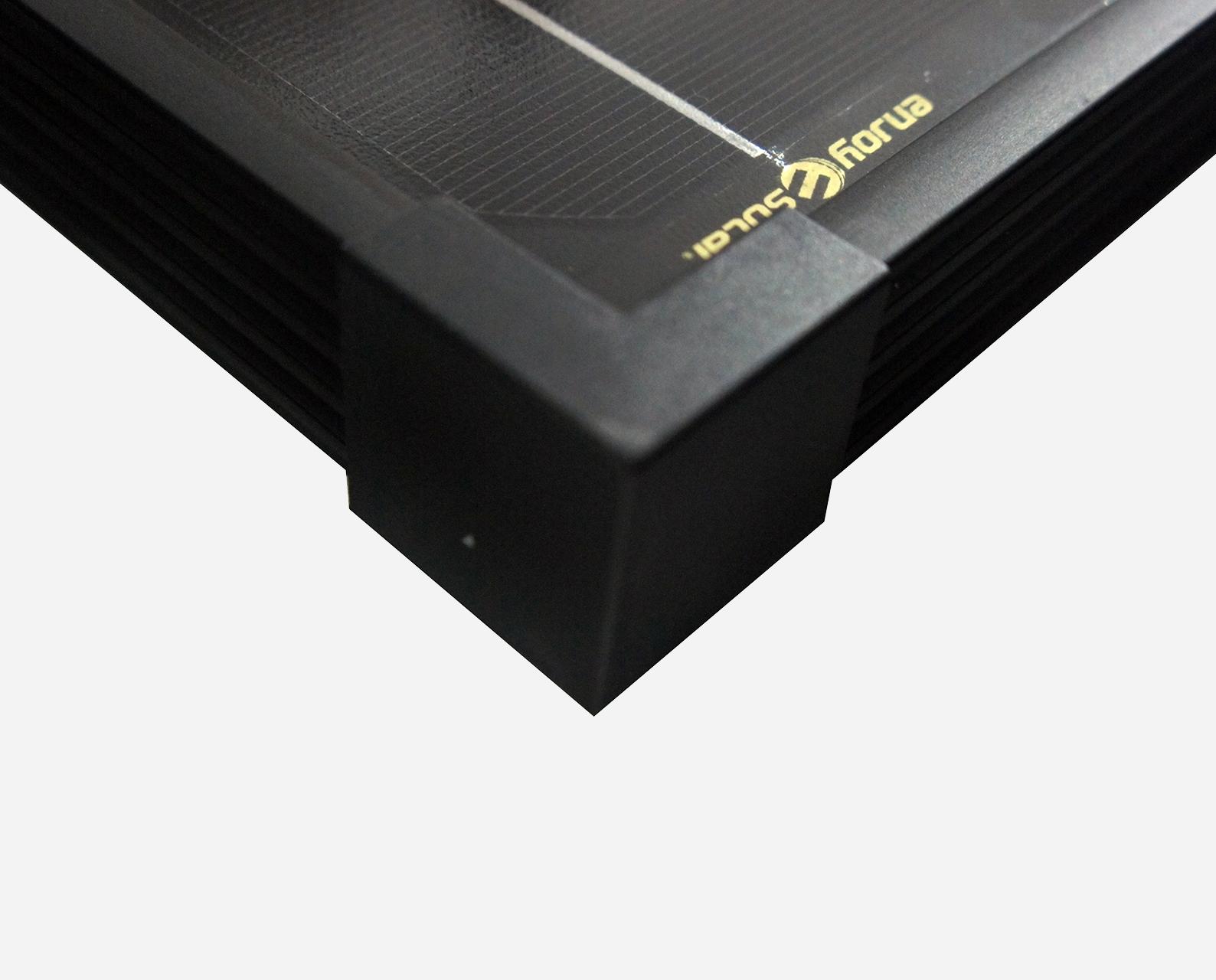 100 Watt Zonnepaneel Full Black Monokristal afm: 1190x540 mm
