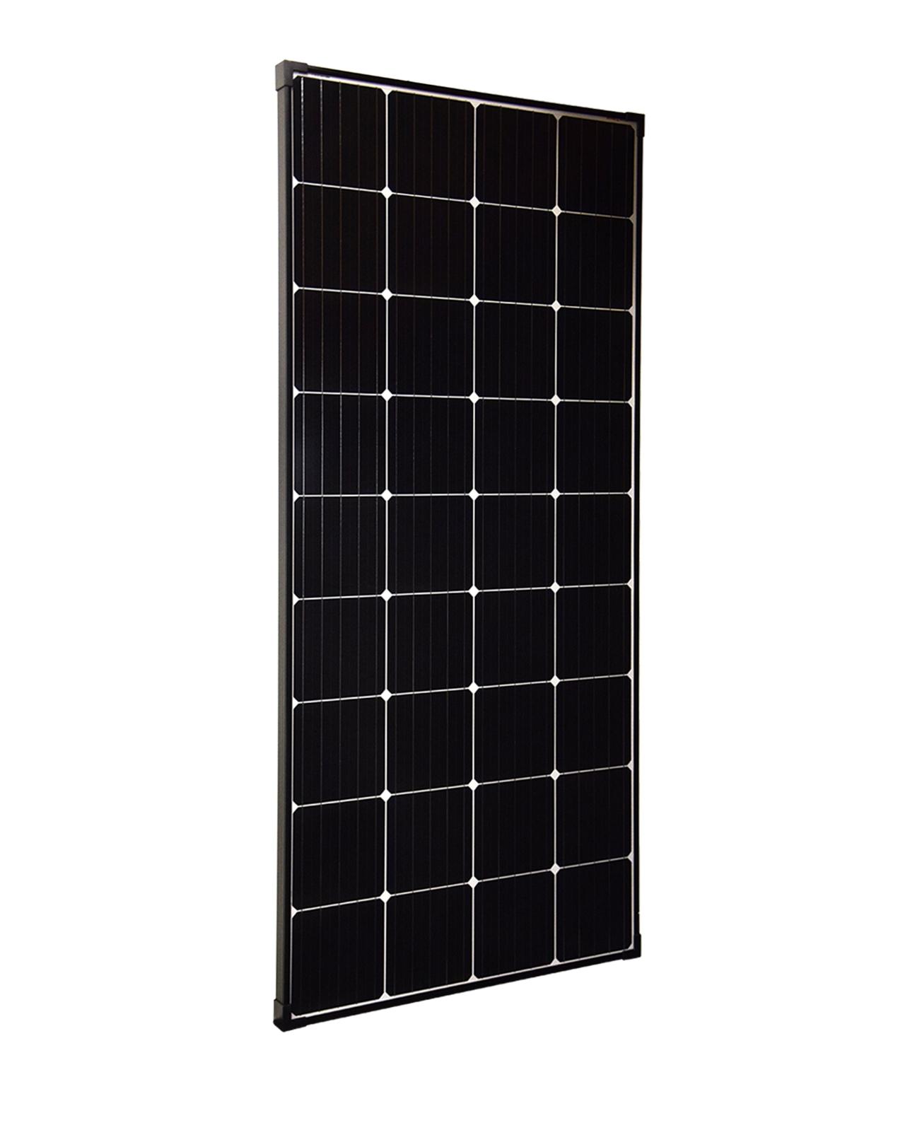 200 Watt Zonnepaneel PERC 9BB Monokristal afm: 1480x670 mm.