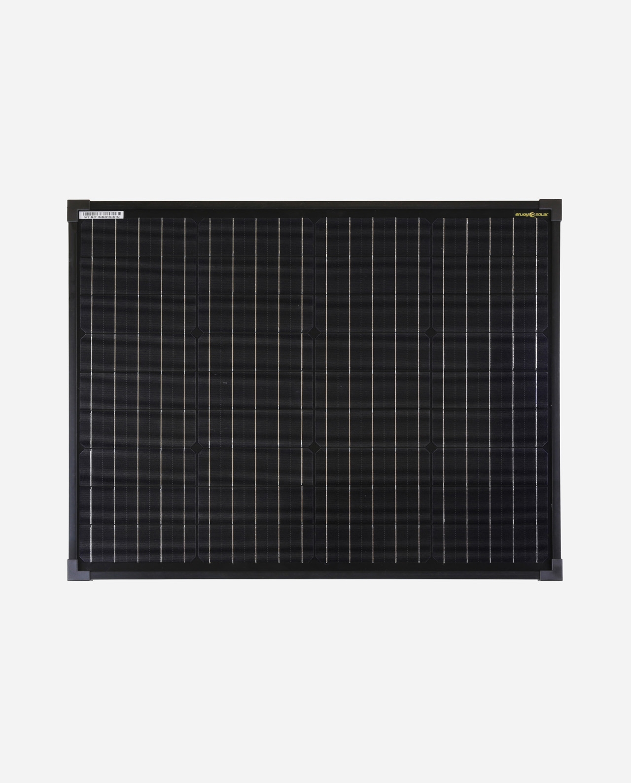 50 Watt Zonnepaneel Full Black Monokristal afm: 662x460 mm.
