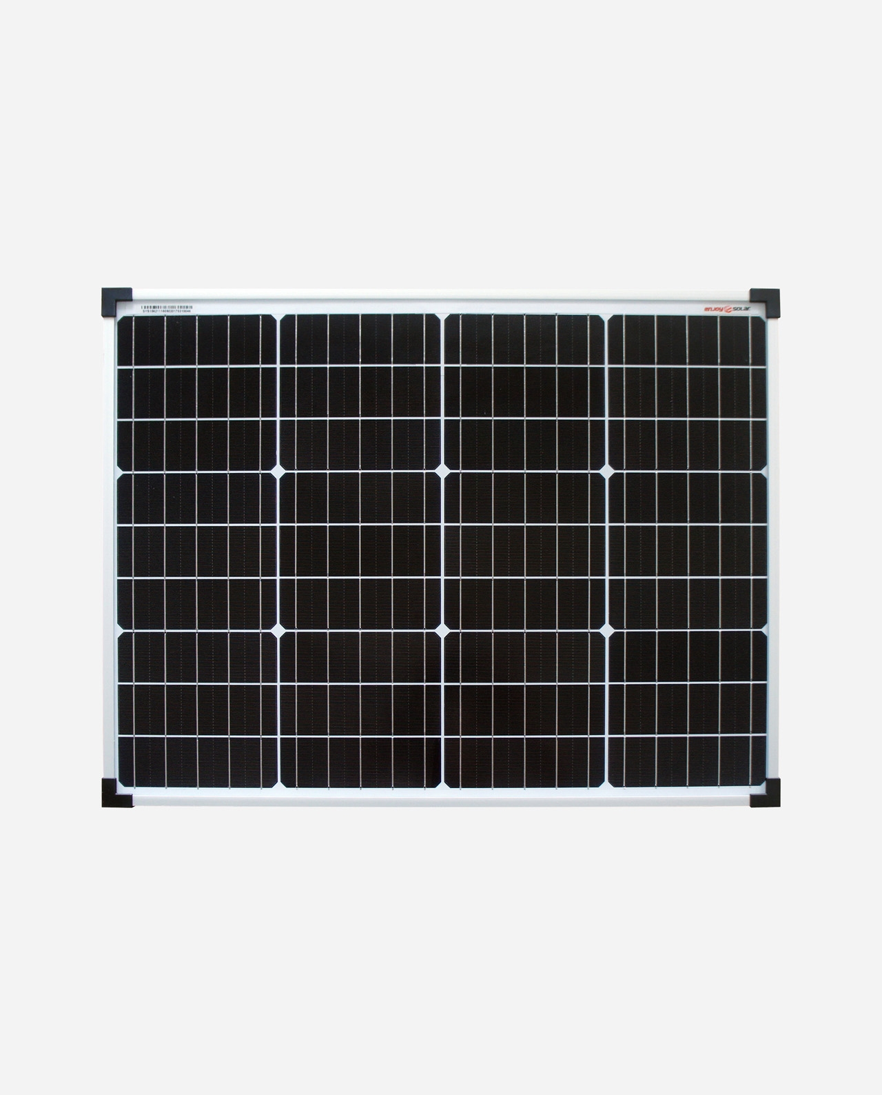 50 Watt Zonnepaneel Monokristal afm: 662x460 mm.