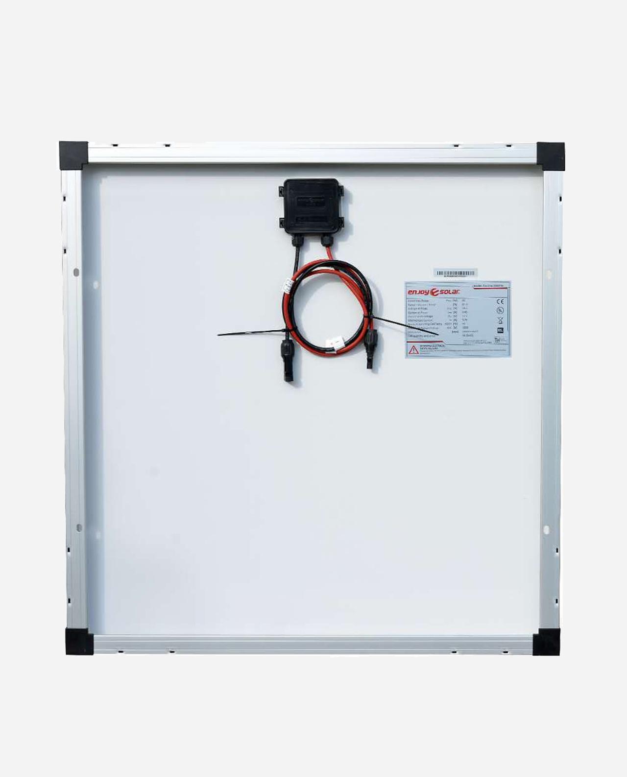 80 Watt Zonnepaneel Monokristal afm: 690x670 mm.
