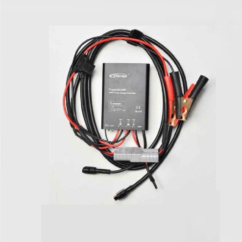 100 Watt Mobiel Portable Full Black Softcase Solarkoffer