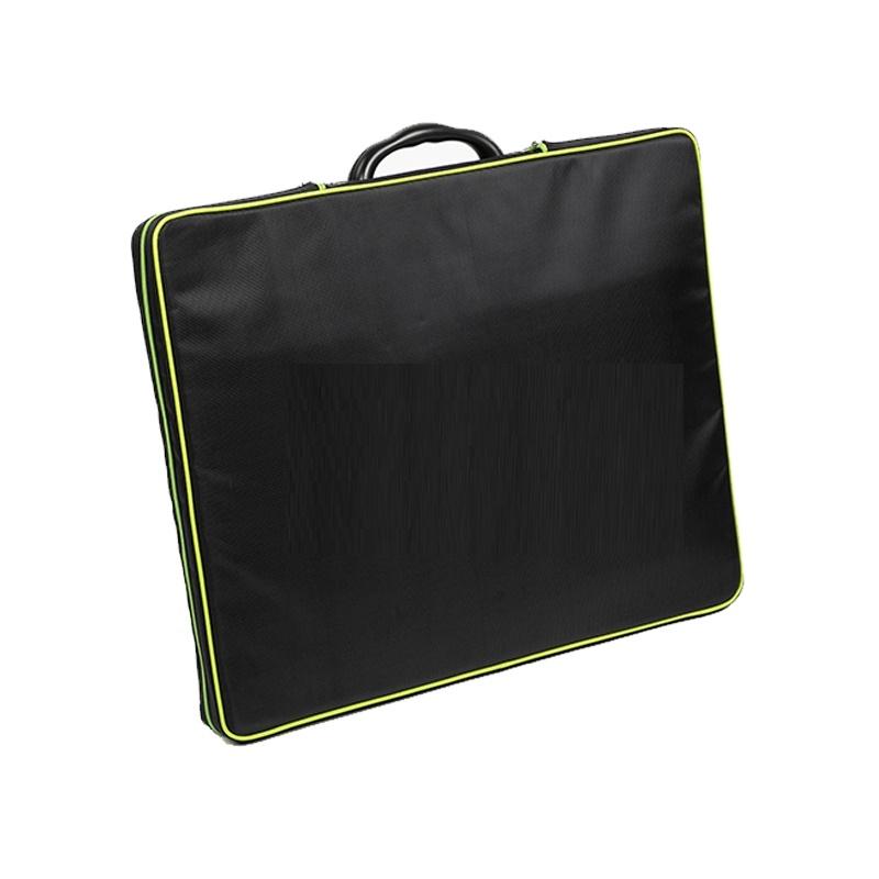 100 Watt Mobiel Portable Full Black Ultra Light Solarkoffer