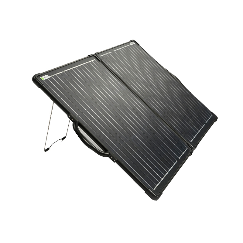 120 Watt 12V Mobiel Portable Ultra Light ETFE Solarkoffer