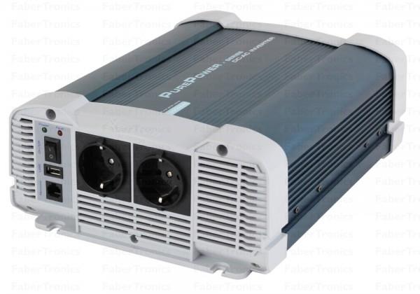 1500W Omvormer 24V naar 230V Xenteq PurePower PPI 1500-224