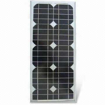 20 Watt Zonnepaneel Set Monokristal 370x345 mm