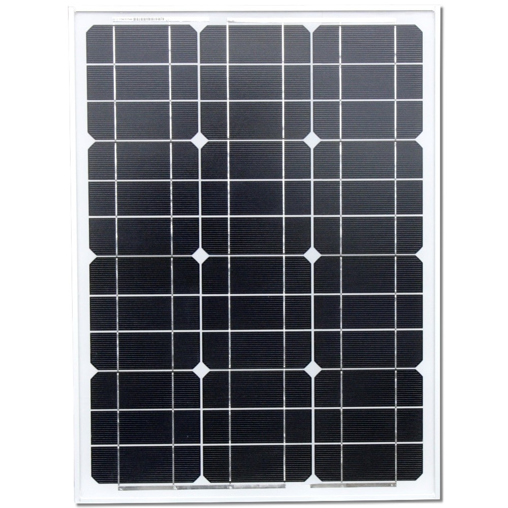 50 Watt Zonnepaneel Set Monokristal 662x521 mm