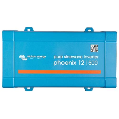 500W Omvormer 12V naar 230V Victron Phoenix 12/500