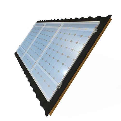 6600 Watt 230V Zonne Panelen Set voor Woning