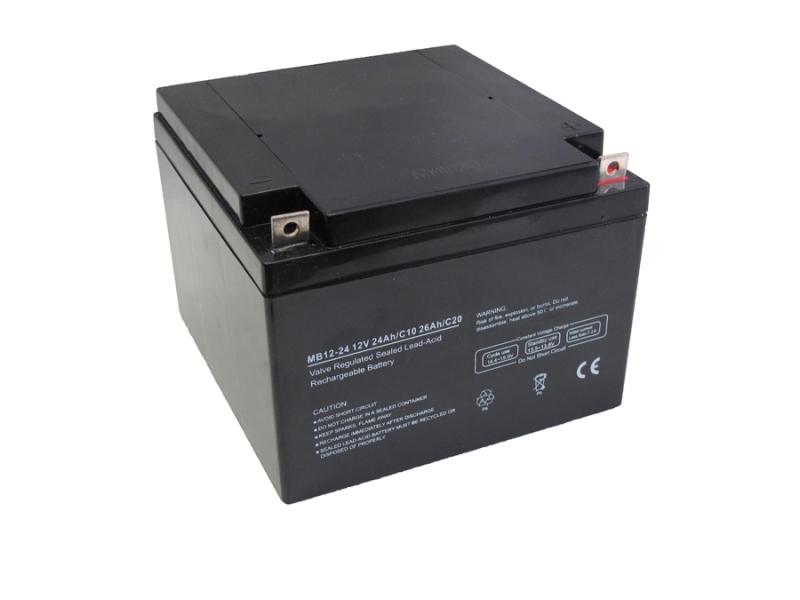 Centrac Dual Power AGM Accu 12V 26Ah (C20) MB12-26