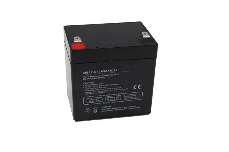 Centrac Dual Power AGM Accu 12V 5Ah (C20) MB12-5