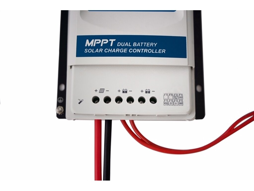 EPSolar DR1206N 12V / 24V 10A DUAL MPPT Laadregelaar