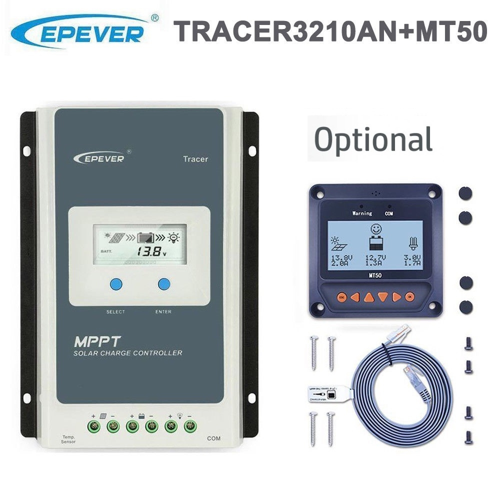 EPSolar Tracer 3210AN 12V / 24V 30A MPPT LDR