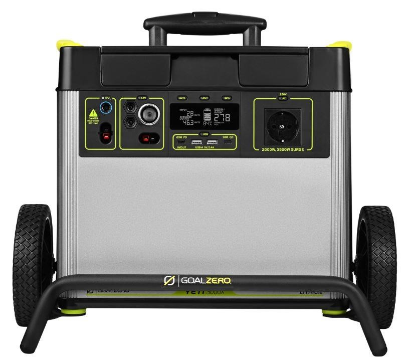 GOAL ZERO YETI 3000X Lithium Portable Power Station 3032Wh