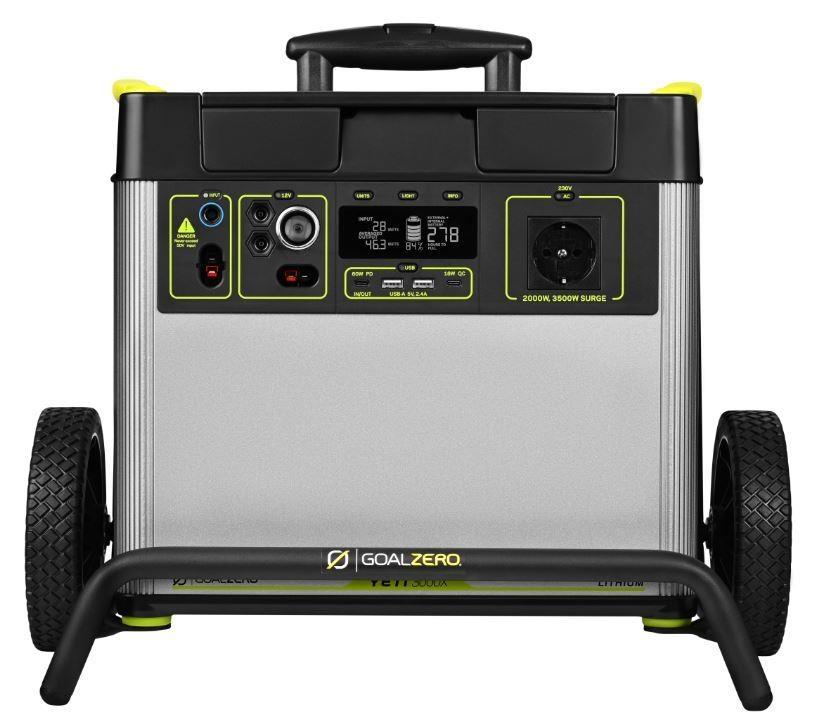 GOALZERO YETI 3000X Lithium Portable Power Station 3032Wh