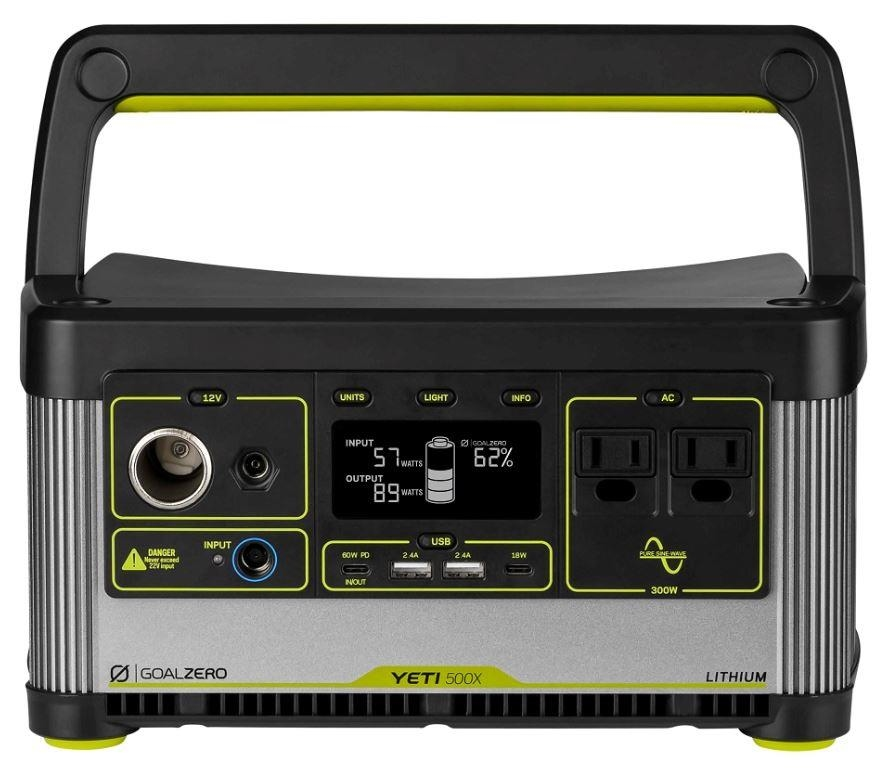 GOALZERO YETI 500X Lithium Portable Power Station 505Wh