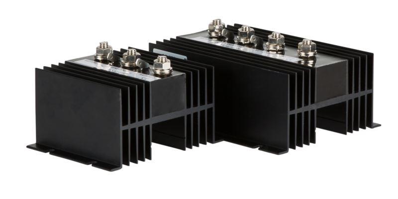 Laadstroomverdeler Xenteq 12/24Vdc, Max 90Amp, 3 uitgangen