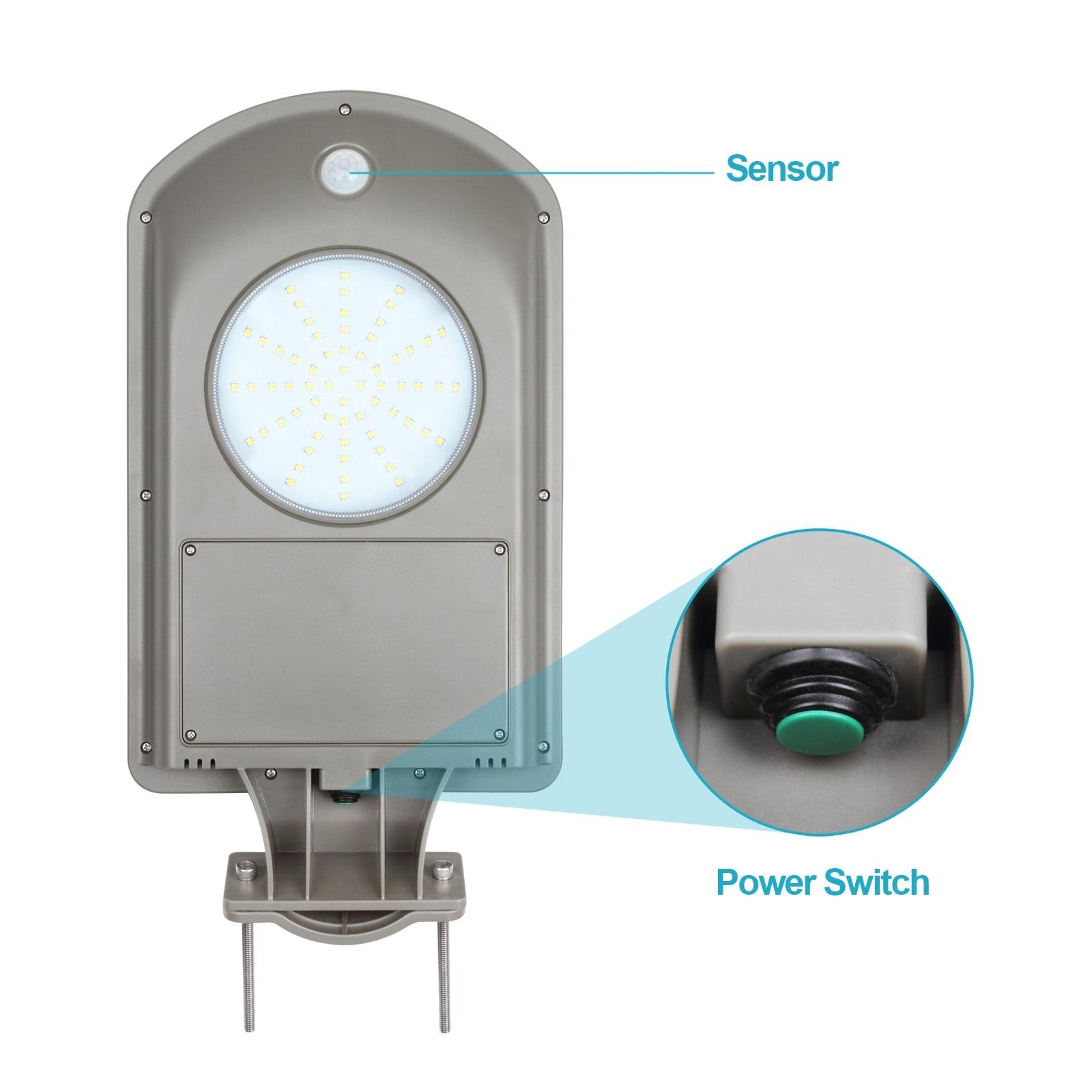 LED 3 Watt Solar Straatverlichting met Bewegingssensor